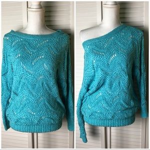 Lilly Pulitzer Larissa Sweater Turquoise XS/Small